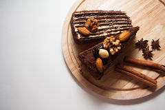 Куски пирожного Стоковое Изображение RF