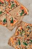 Куски пиццы с arugula Стоковые Изображения