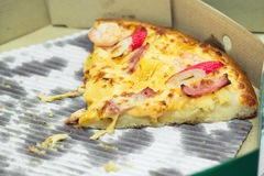 Куски пиццы Стоковые Фото
