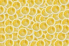 Куски предпосылки лимонов Стоковые Изображения RF