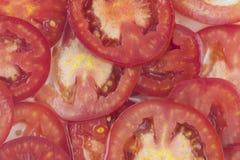 куски томата Стоковые Фото