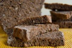 Куски хлеба с 5 хлопьями стоковые изображения