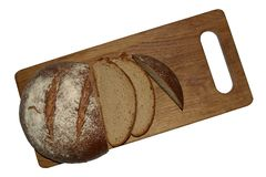 Куски хлеба рож Стоковые Фотографии RF