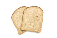 Куски хлеба Wholemeal стоковые изображения