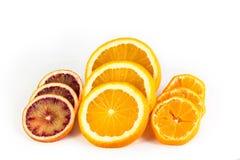 Куски цитрусовых фруктов Стоковые Изображения