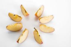 Куски Яблока Стоковые Изображения RF