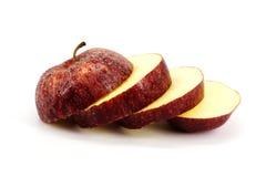 Куски Яблока Стоковые Изображения