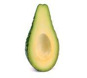 Кусок авокадоа без изолированного камня Стоковая Фотография RF