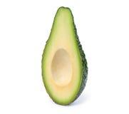 Кусок авокадоа без изолированного камня Стоковые Фотографии RF
