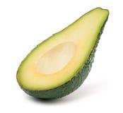 Кусок авокадоа без изолированного камня Стоковое Изображение RF