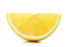 Кусок апельсина на белой предпосылке стоковое изображение rf