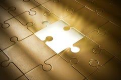 Кусок головоломки Стоковая Фотография RF