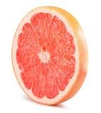 Кусок грейпфрута изолированный на белой предпосылке Стоковое Фото