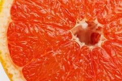 Кусок красного грейпфрута Стоковая Фотография RF