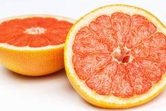 Кусок красного грейпфрута Стоковое Фото