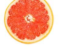 Кусок красного грейпфрута Стоковые Фотографии RF
