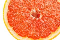 Кусок красного грейпфрута Стоковая Фотография