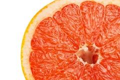 Кусок красного грейпфрута Стоковые Изображения