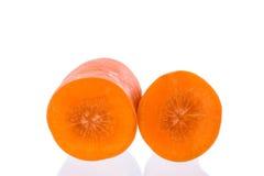 Кусок моркови Стоковая Фотография RF