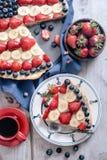 Кусок пирога плодоовощ Стоковые Фото
