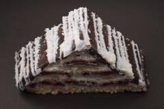 Кусок пирога с замороженностью Стоковое Изображение RF