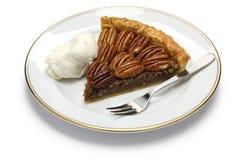 Кусок пирога с орехами Стоковые Изображения RF