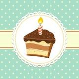 Кусок пирога Стоковое Изображение RF