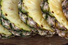 Кусок свежего ананаса Стоковое фото RF