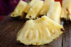 Кусок свежего ананаса Стоковая Фотография