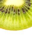 Кусок свежего плодоовощ кивиа на белой предпосылке Стоковые Фотографии RF