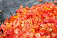 Кусок томата стоковые изображения