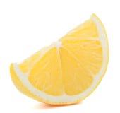 Кусок цитрусовых фруктов лимона или цитрона Стоковое Изображение