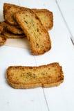 Кусок crostini Стоковые Изображения
