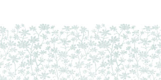 Куст вектора абстрактный серый выходит ткань Стоковая Фотография RF