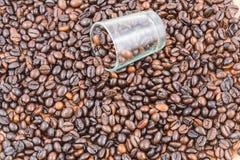 кухни кофе фасолей предпосылки текстура красивейшей родственная Стоковое фото RF