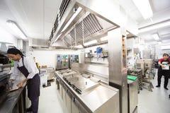 Кухня больницы стоковое изображение rf