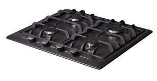 Кухня варя поверхность газа Стоковое Изображение RF