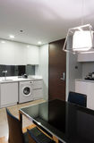 Кухня в квартире стоковое фото