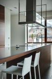 Кухня в коттедже Стоковые Изображения