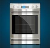 Кухня - газовая плита Стоковая Фотография
