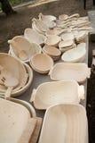кухня деталей деревянная Стоковая Фотография