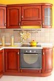 кухня детали деревянная Стоковые Изображения