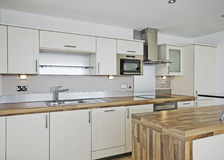 кухня детали самомоднейшая Стоковое Фото