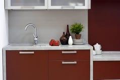 кухня детали самомоднейшая Стоковое Изображение RF