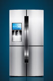 Кухня - ледник, холодильник, холодильник иллюстрация вектора