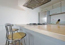 кухня завтрака штанги Стоковое фото RF