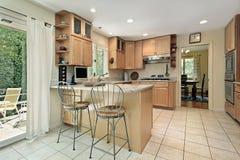 кухня завтрака штанги Стоковое Изображение RF
