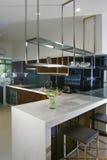 кухня интерьера конструкции Стоковое Изображение RF