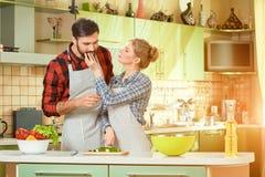 Кухня и пары Стоковая Фотография
