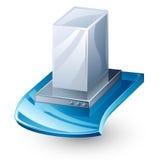 кухня клобука отработанного вентилятора Стоковое фото RF